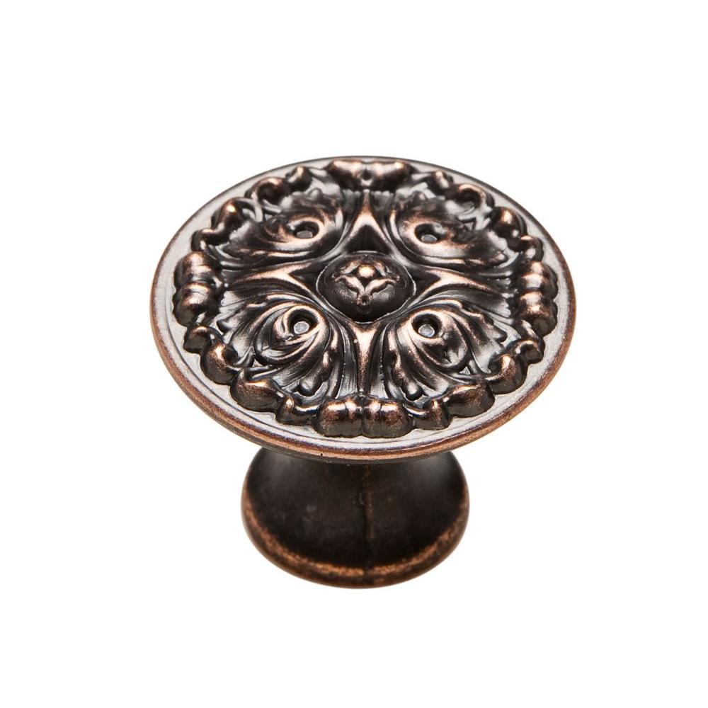 1-1/8 in. Venetian Bronze Cabinet Knob