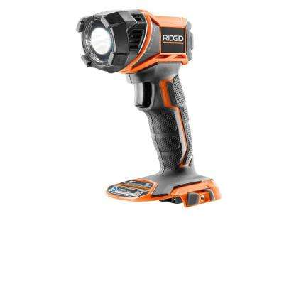 18-Volt Cordless 330-Lumen LED Flashlight (Tool Only)