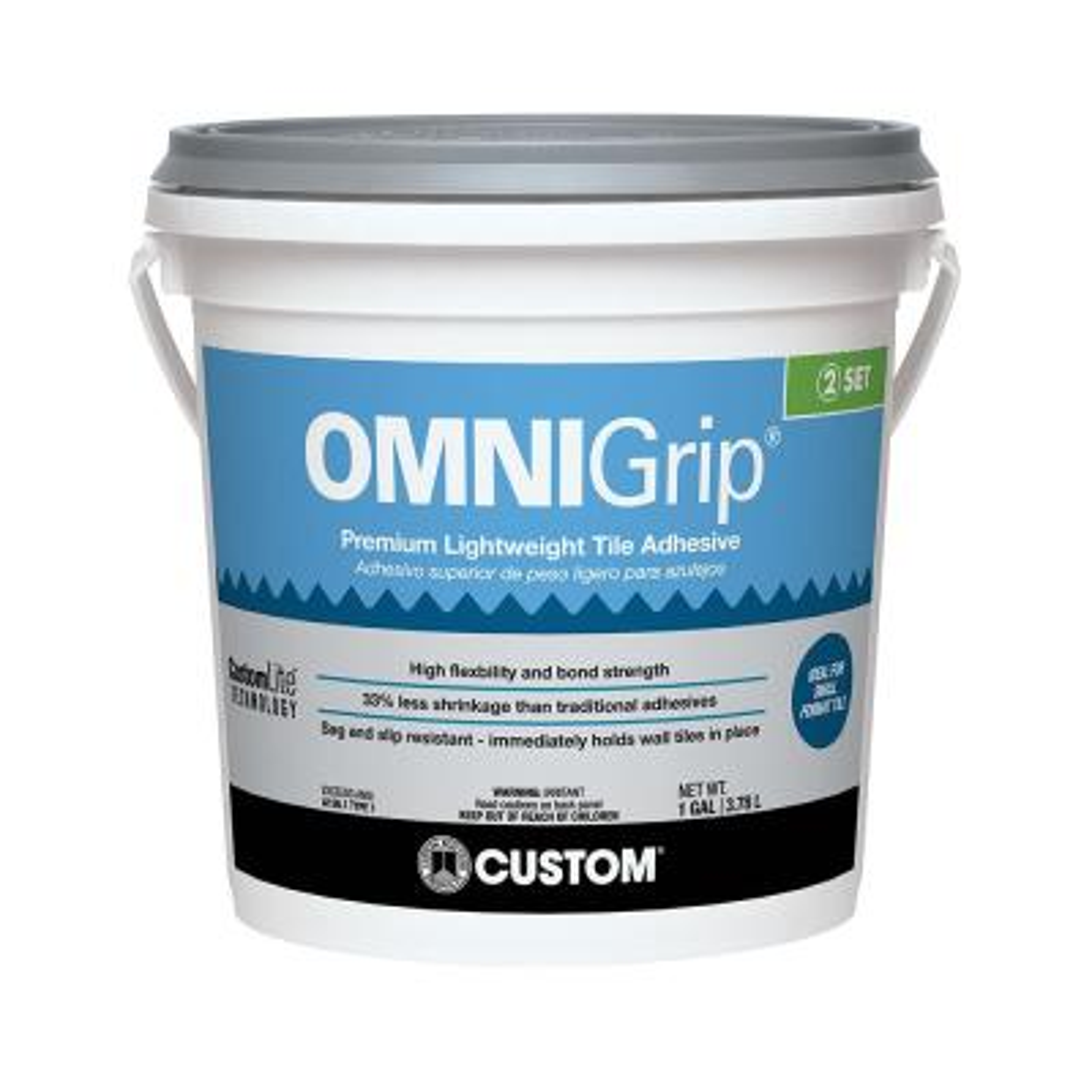 OmniGrip 1 Gal. Maximum Strength Adhesive (75 buckets / 4500 sq. ft. / pallet)