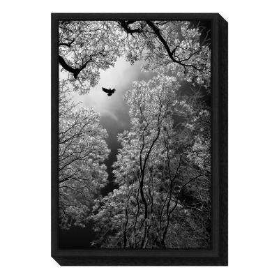 """Flight"" by Goran Stamenkovic Framed Canvas Wall Art"