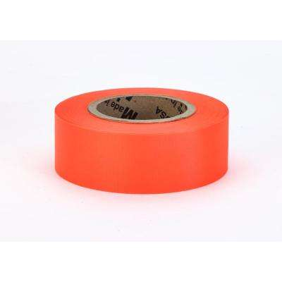 1-3/16 in. x 150 ft. Glo-Orange Surveyor Grade ULTRA Flagging Tape (Pack of 24)