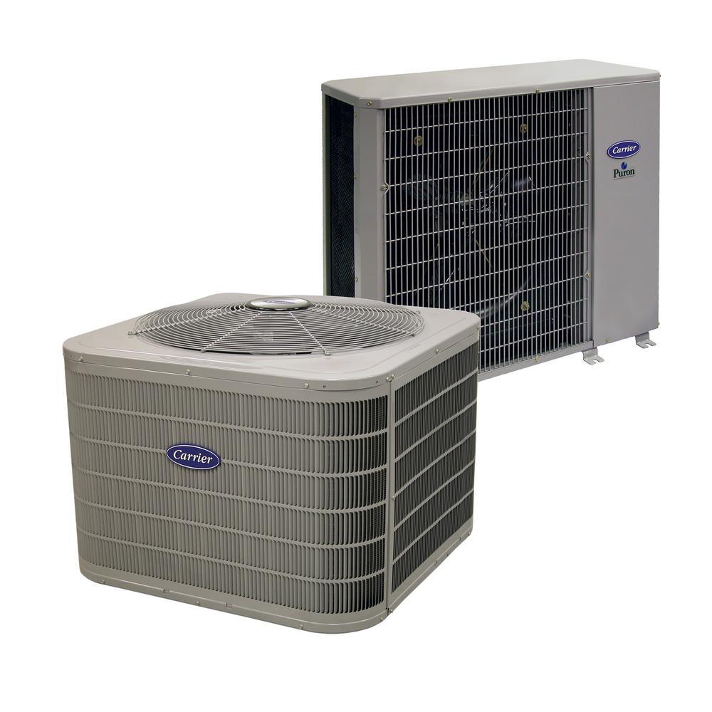 carrier installed performance series heat pump hsinstcarphp the home depot. Black Bedroom Furniture Sets. Home Design Ideas