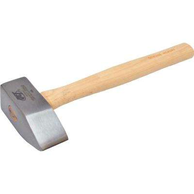 35 in. x 7 in. Stone Mason's Hammer with 16 in. Hickory handle