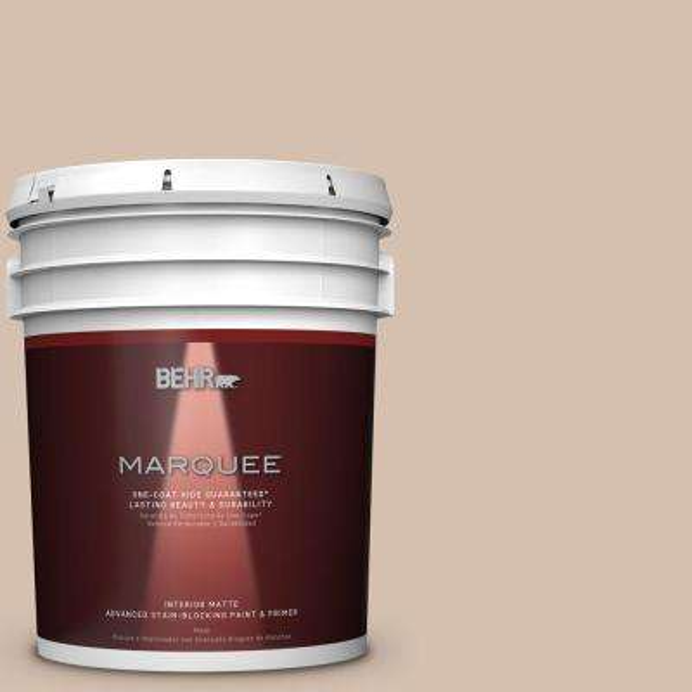 5 gal. #MQ2-36 Elusive Dawn One-Coat Hide Matte Interior Paint