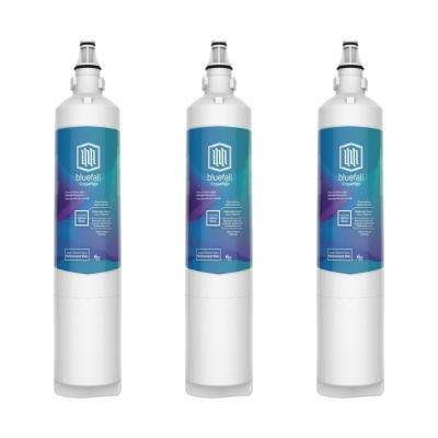 3 Compatible Refrigerator Water Filters Fits LG LT600P and Kenmore 46-9990 (Value Pack)
