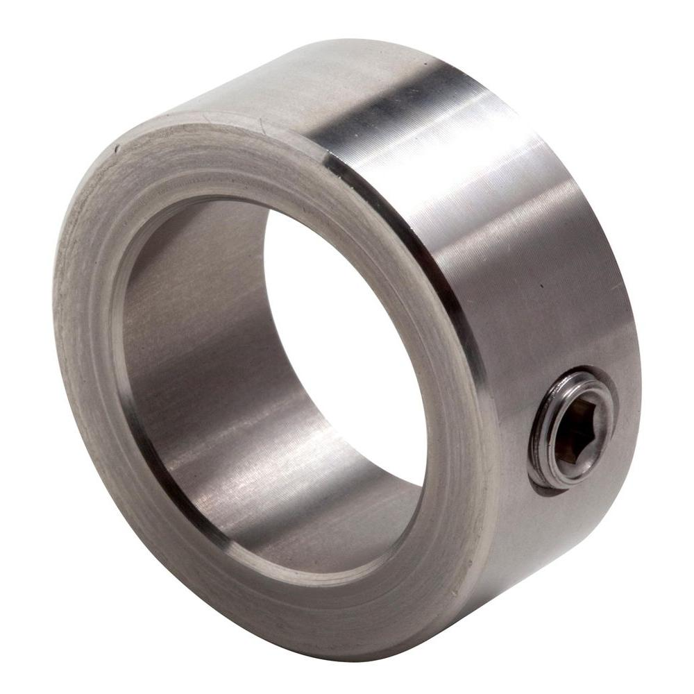 1/2 in. Bore T303 Stainless Steel Set Screw Collar