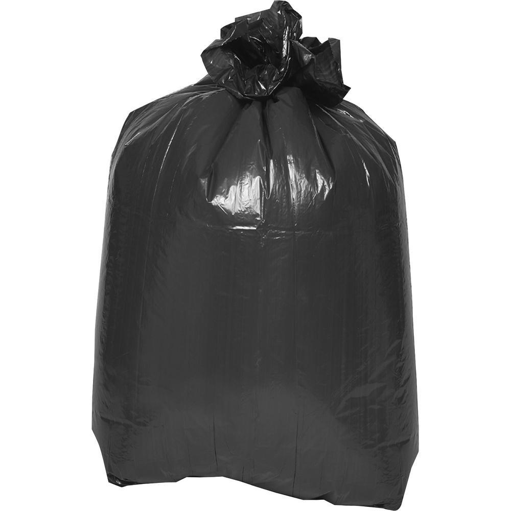 39 in. x 33 in. 1.5 mil 2-Ply Flat Bottom Trash Bags (100/Carton)