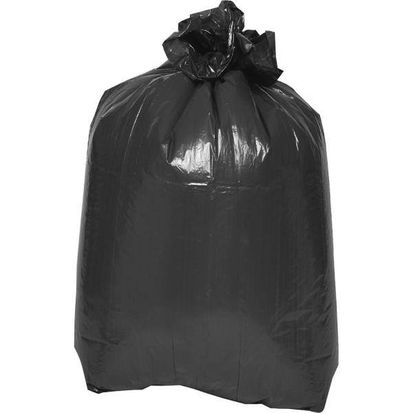 39 in. x 33 in. 1.5 mil 2-Ply Flat Bottom Trash Bags (100/Carton)