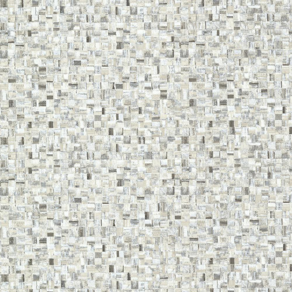 Black Sanaa Paperweave Texture Wallpaper