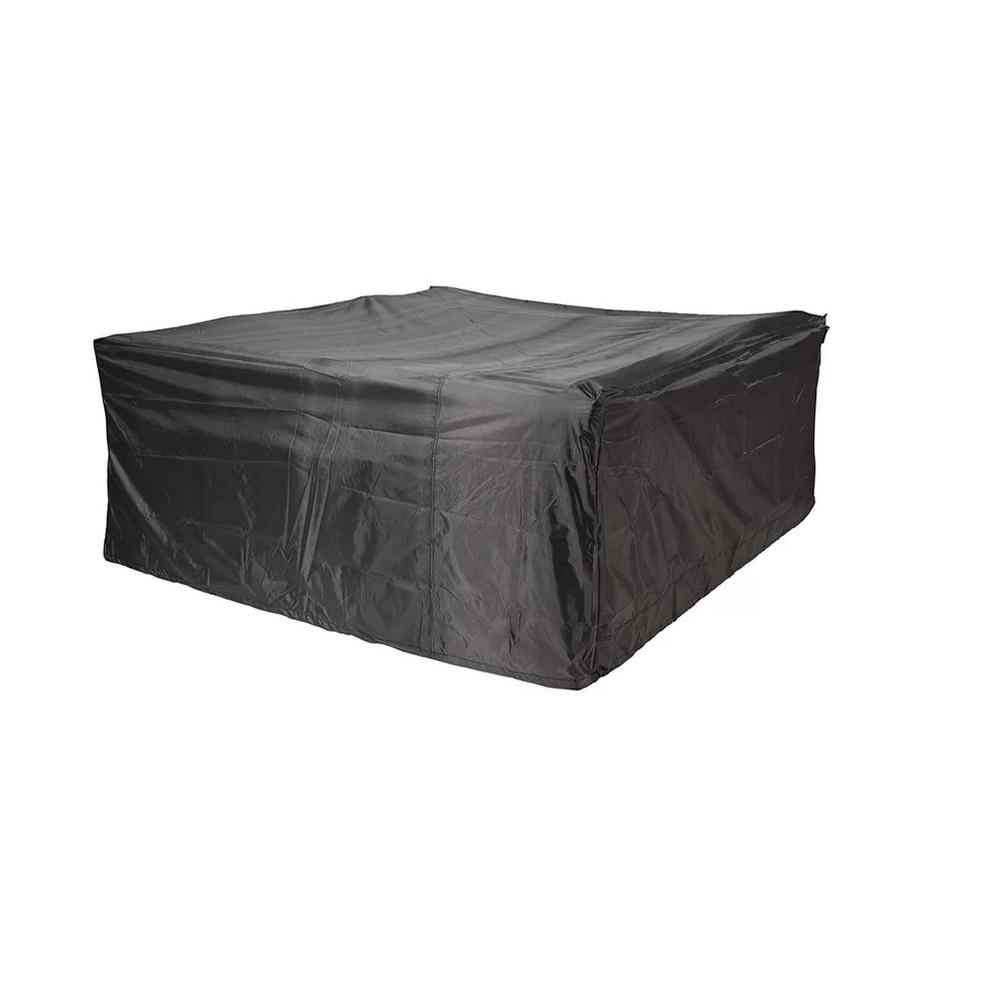 DIRECT WICKER All-Weather Square Patio Protective Cover for Table and Chairs