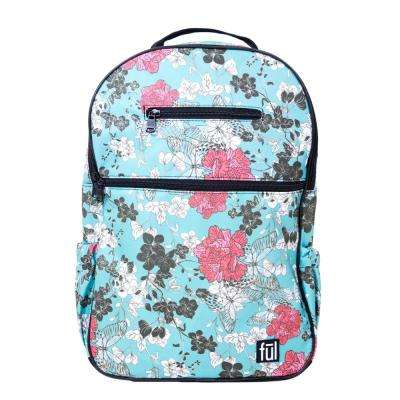 Accra Fashion 17 in. Teal Laptop Backpack