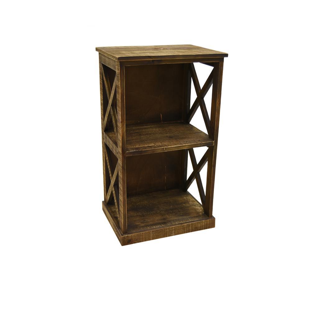 Brown Storage Rack