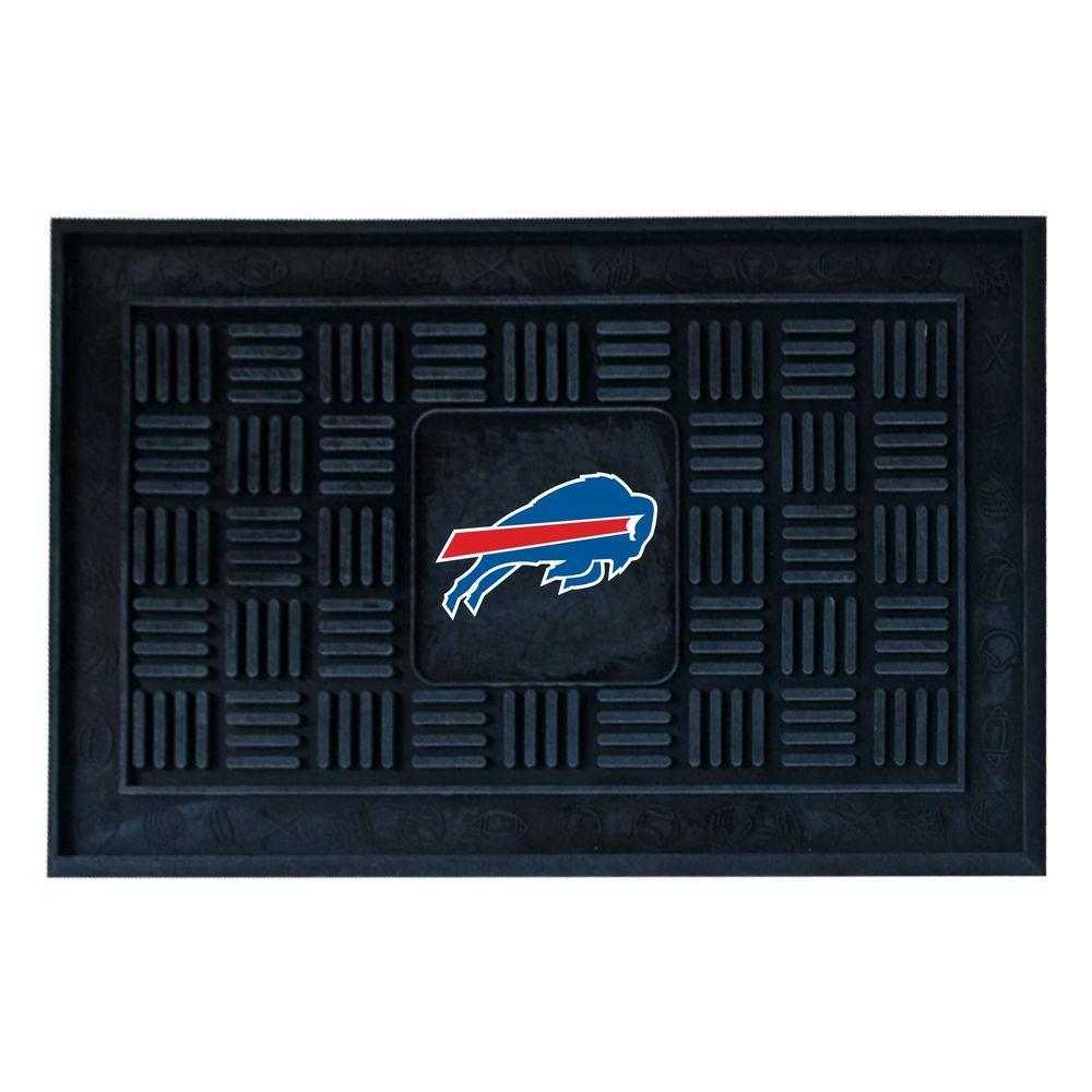 FANMATS Buffalo Bills 18 in. x 30 in. Door Mat