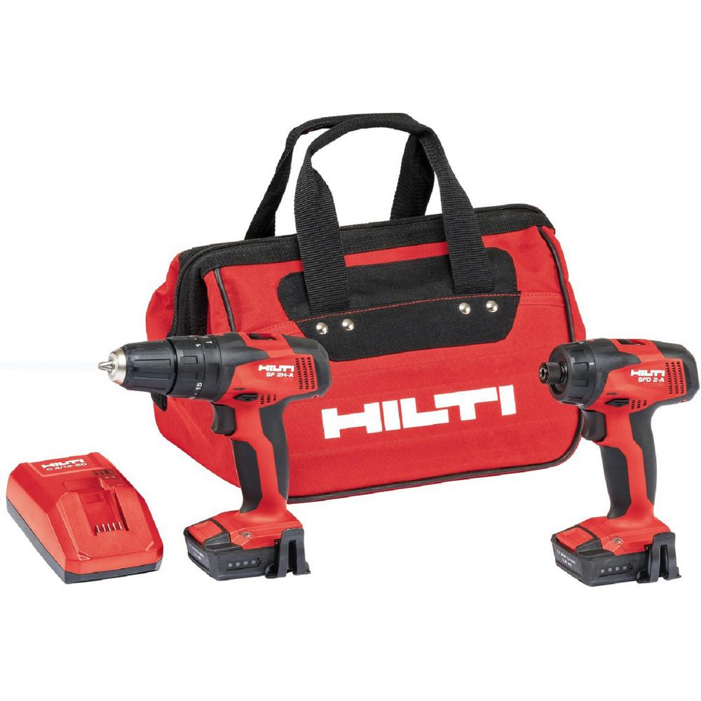 HILTI 12-Volt Lithium-Ion Cordless Rotary Hammer Drill/Dr...