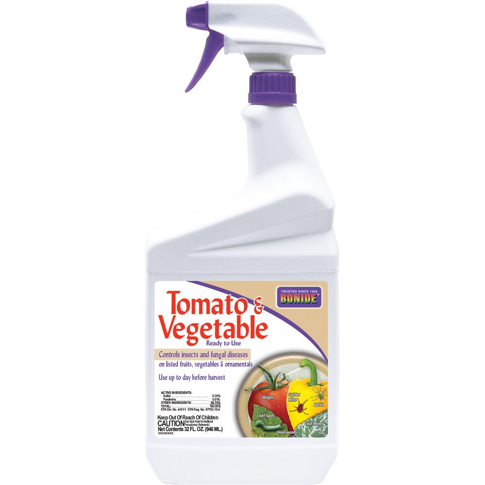 BONIDE 32 oz. Ready-to-Use Tomato and Vegetable Insect an...