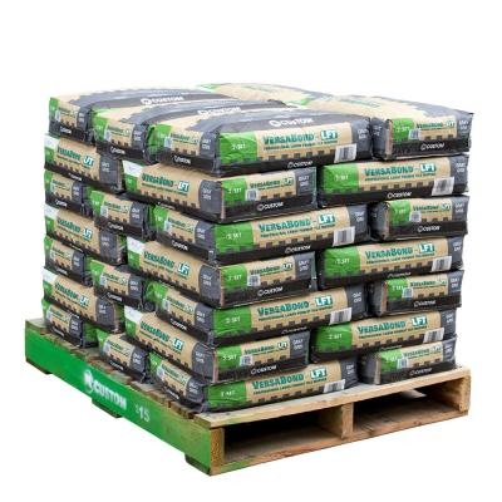 VersaBond-LFT 50 lbs. Gray Fortified Medium Bed Mortar (35 Bags / Pallet)