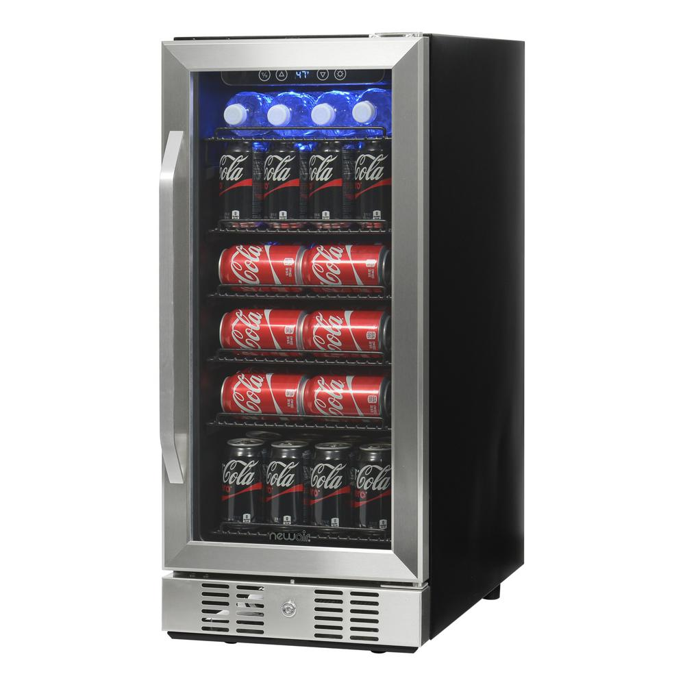 Newair 15 in 96 can beverage cooler abr 960 the home depot 96 can beverage cooler publicscrutiny Image collections