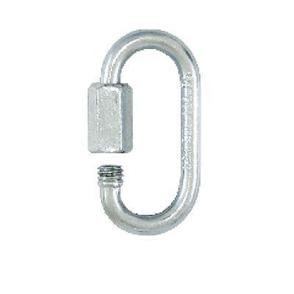 Lehigh 1/4 in. 880 lb. Zinc-Plated Quick Link (24-Pack)