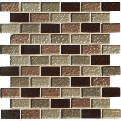 Ayres Blend 12 in. x 12 in. x 8 mm Glass Mesh-Mounted Mosaic Tile (10 sq. ft. / case)