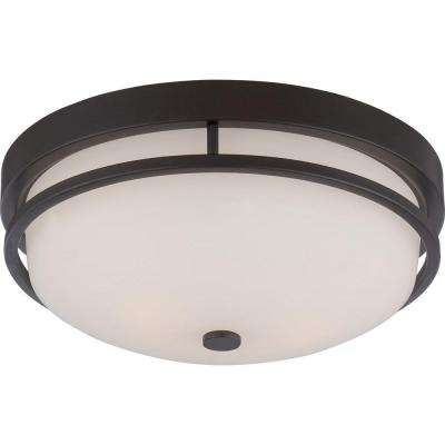 Klarissa 2-Light Sudbury Bronze Flush Mount