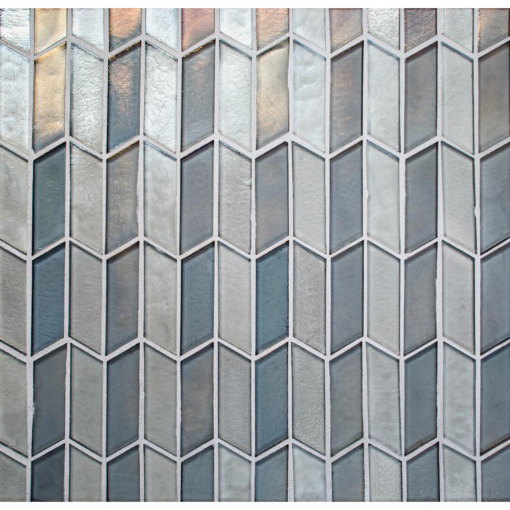 Daltile La Vista Opalescent In X In X Mm Glass - Daltile bend oregon