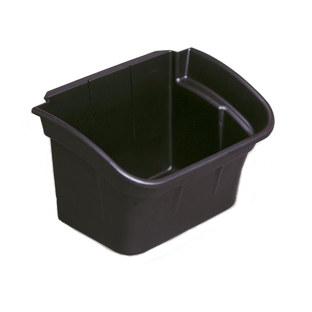 4 Gal. Black Utility Bin