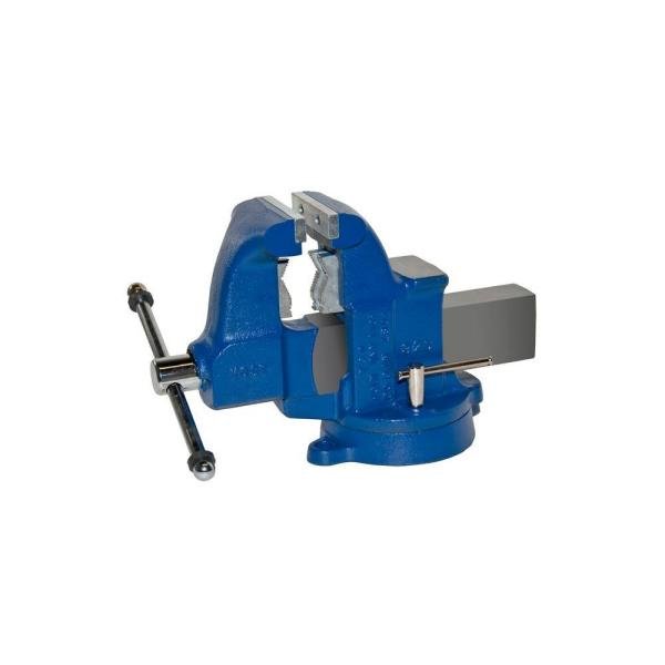 4-1/2 in. Heavy-Duty Combination Pipe and Bench Vise - Swivel Base