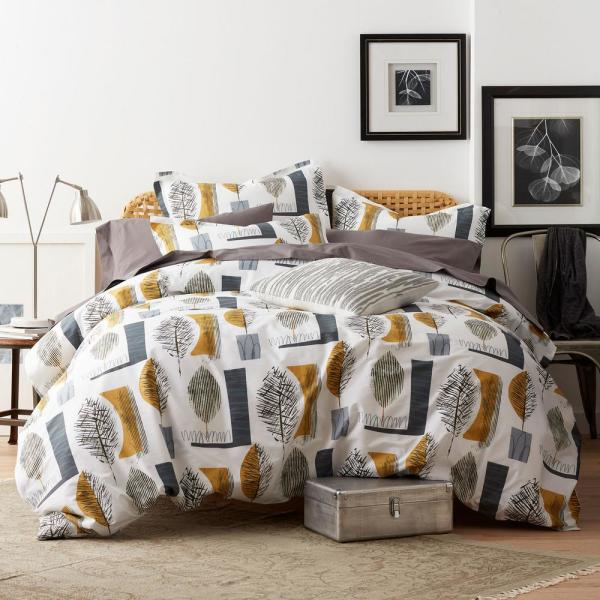 Cstudio Home by The Company Store Sumi 3-Piece Cotton Percale King