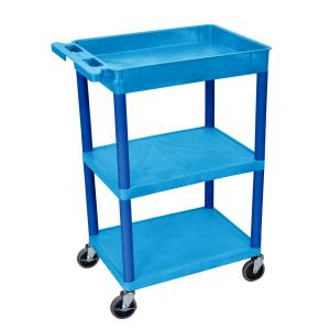 Luxor STC 24 inch Utility Cart in Blue by Luxor