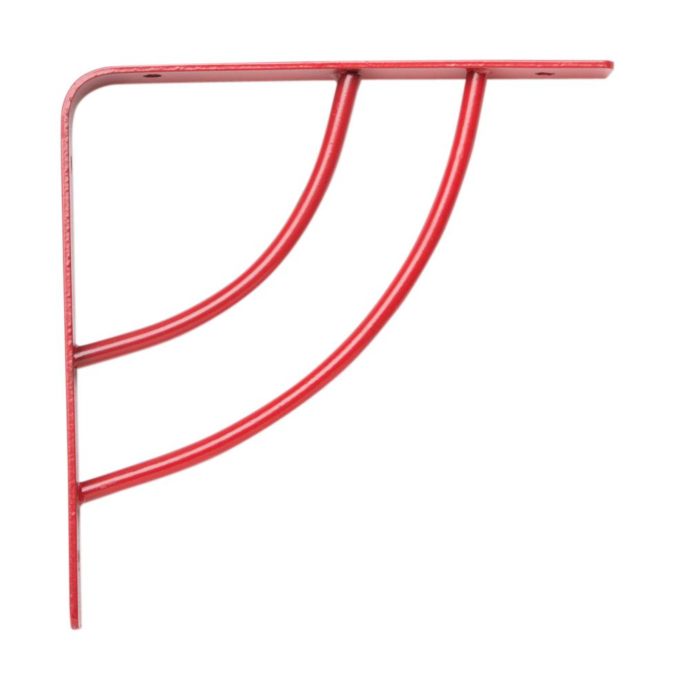 Milano 6 in. x .75 in. Red 25 lb. Decorative Shelf