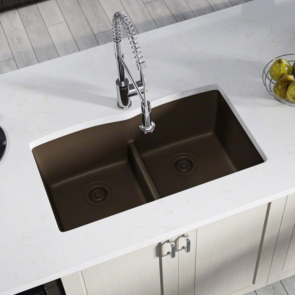 Mr Direct All In One Undermount Kitchen Sink Composite