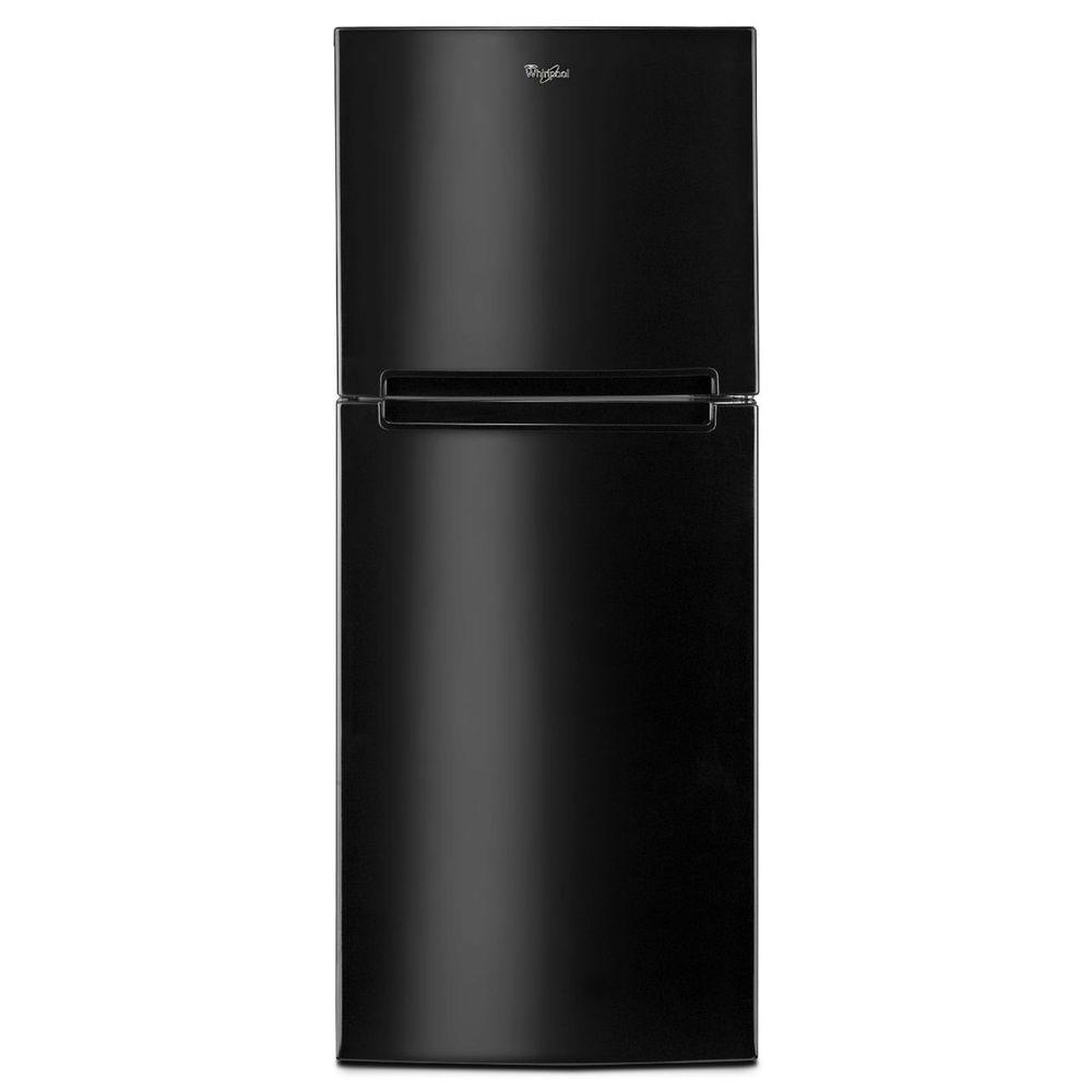 Whirlpool 25 In W 10 7 Cu Ft Top Freezer Refrigerator