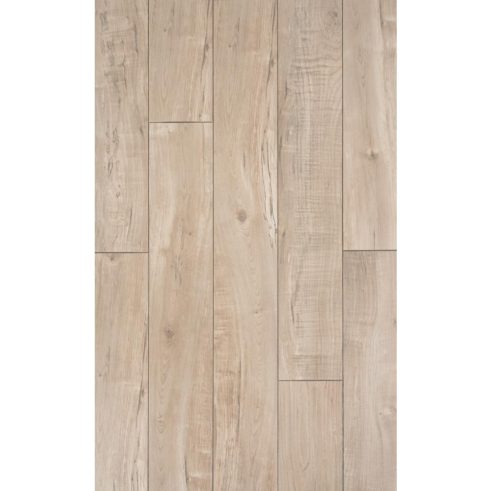 Home Decorators Collection Home Decorators Collection Bywater Gray Maple 12mm Thick x 6.1 in. Wide x 47.64 in. Length Laminate Flooring (14.13 sq. ft. / case), Light