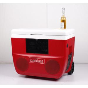 50 L Portable Cooler With High Power Bluetooth Speaker