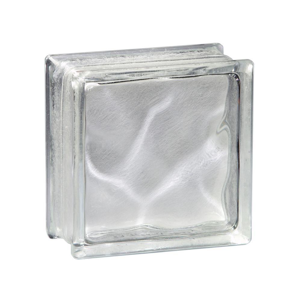 Pittsburgh Corning 8 in. x 8 in. x 4 in. Decora LX Glass Block (8-Case)