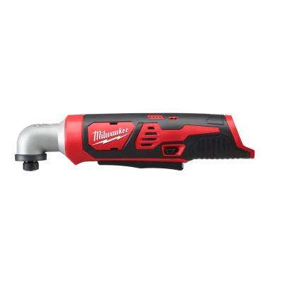 M12 12-Volt Lithium-Ion Cordless 1/4 in. Right Angle Hex Impact Driver (Tool-Only)
