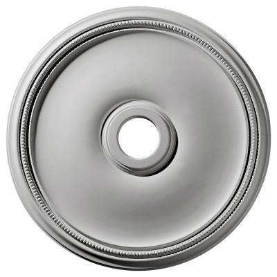 24 in. x 3-5/8 in. ID x 1-3/4 in. Theia Urethane Ceiling Medallion (Fits Canopies upto 6-3/4 in.)