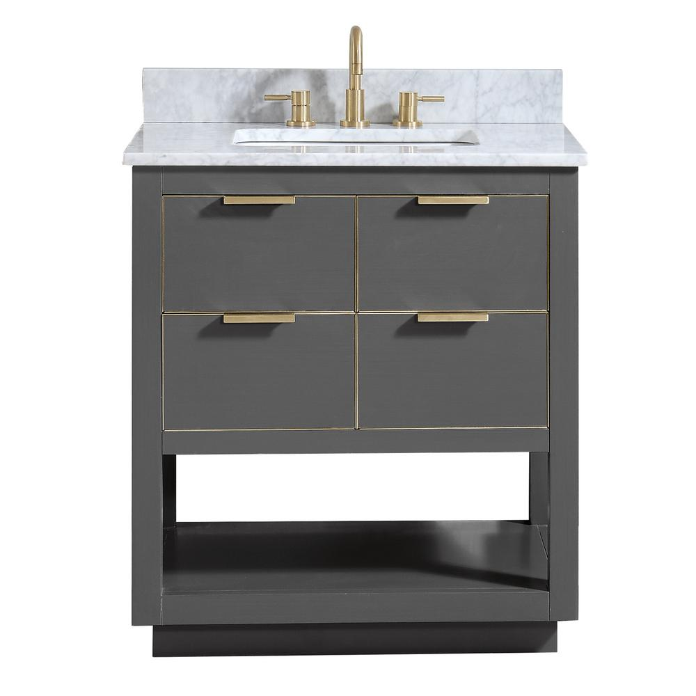 Allie 31 in. W x 22 in. D Bath Vanity in
