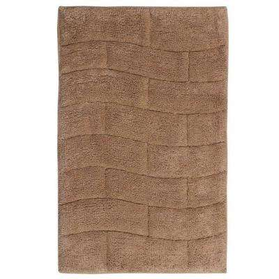 New Tile Natural 20 in. x 30 in. Bath Rug