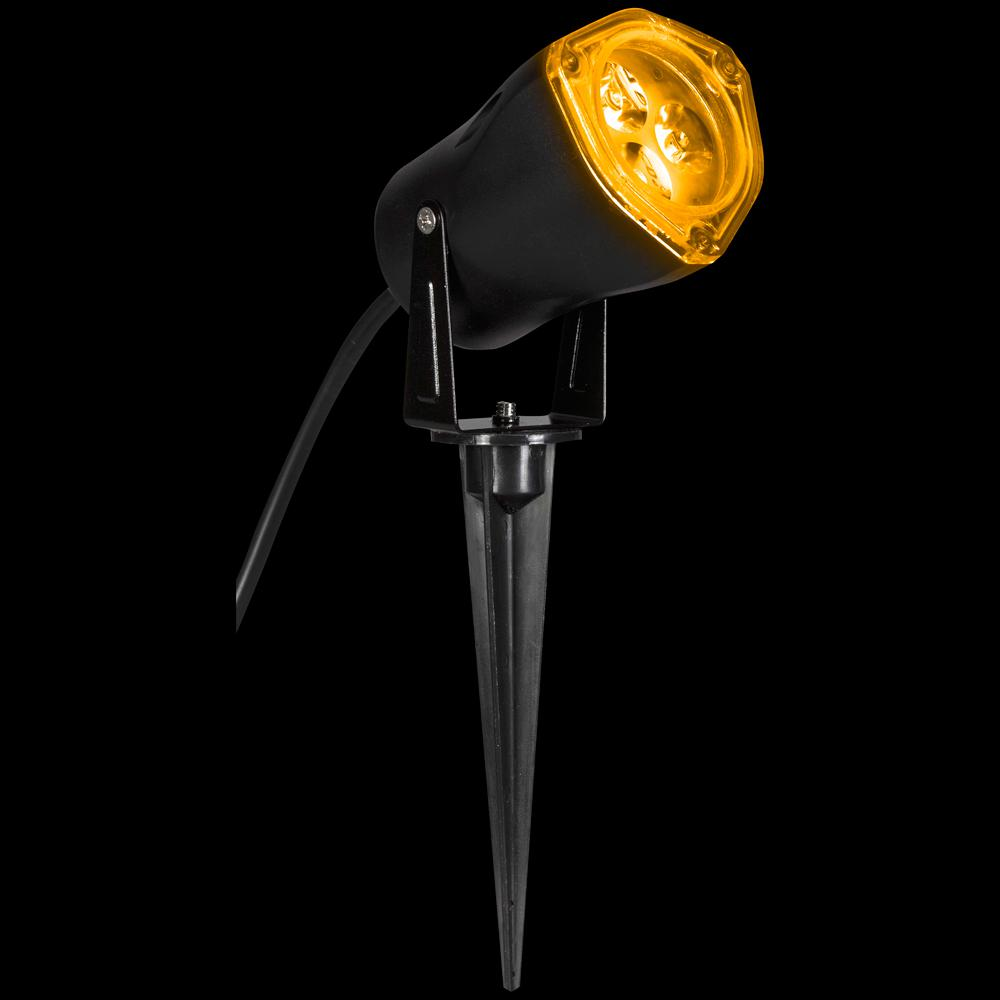 Gemmy 3.54 in. Yellow-Outdoor Spring Pastels LED Spot Light-48456 ...