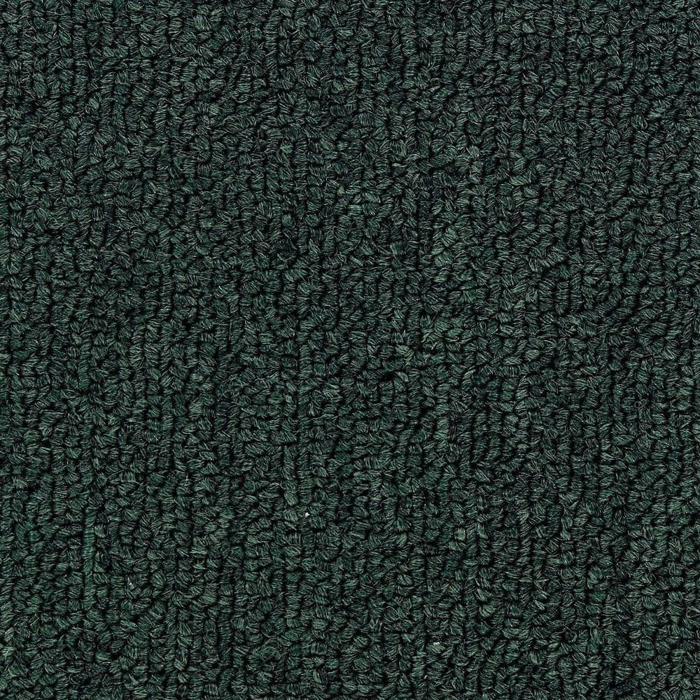 Bottom Line Base - Color Forest Green 12 ft. Carpet