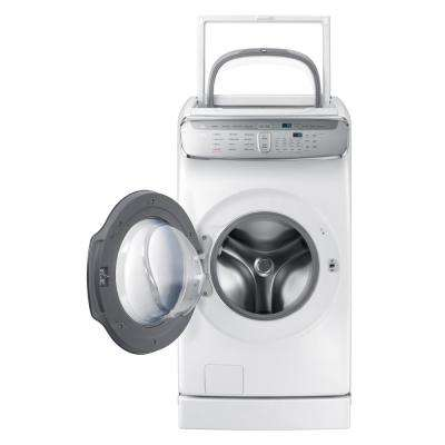 6.0 Total cu. ft. High-Efficiency FlexWash Washer in White