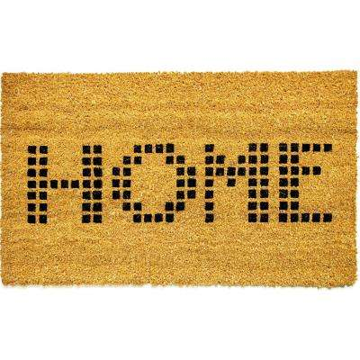 Vale Home Ivory 18 in. x 30 in. Door Mat