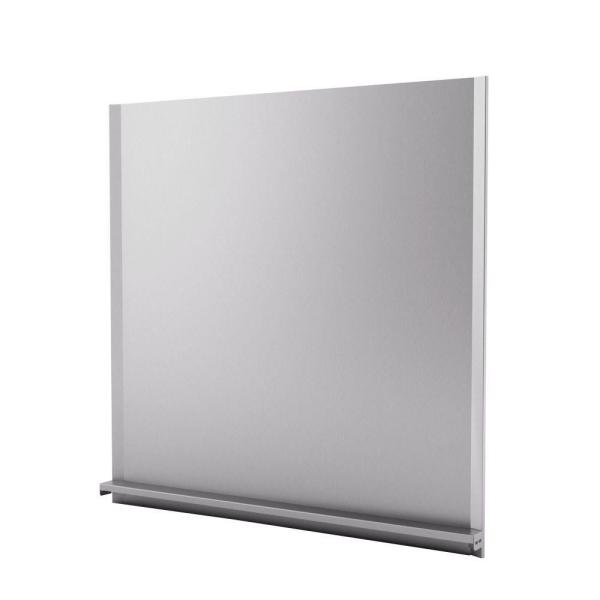 Alpha 30 in. x 30 in. Stainless Steel Backsplash
