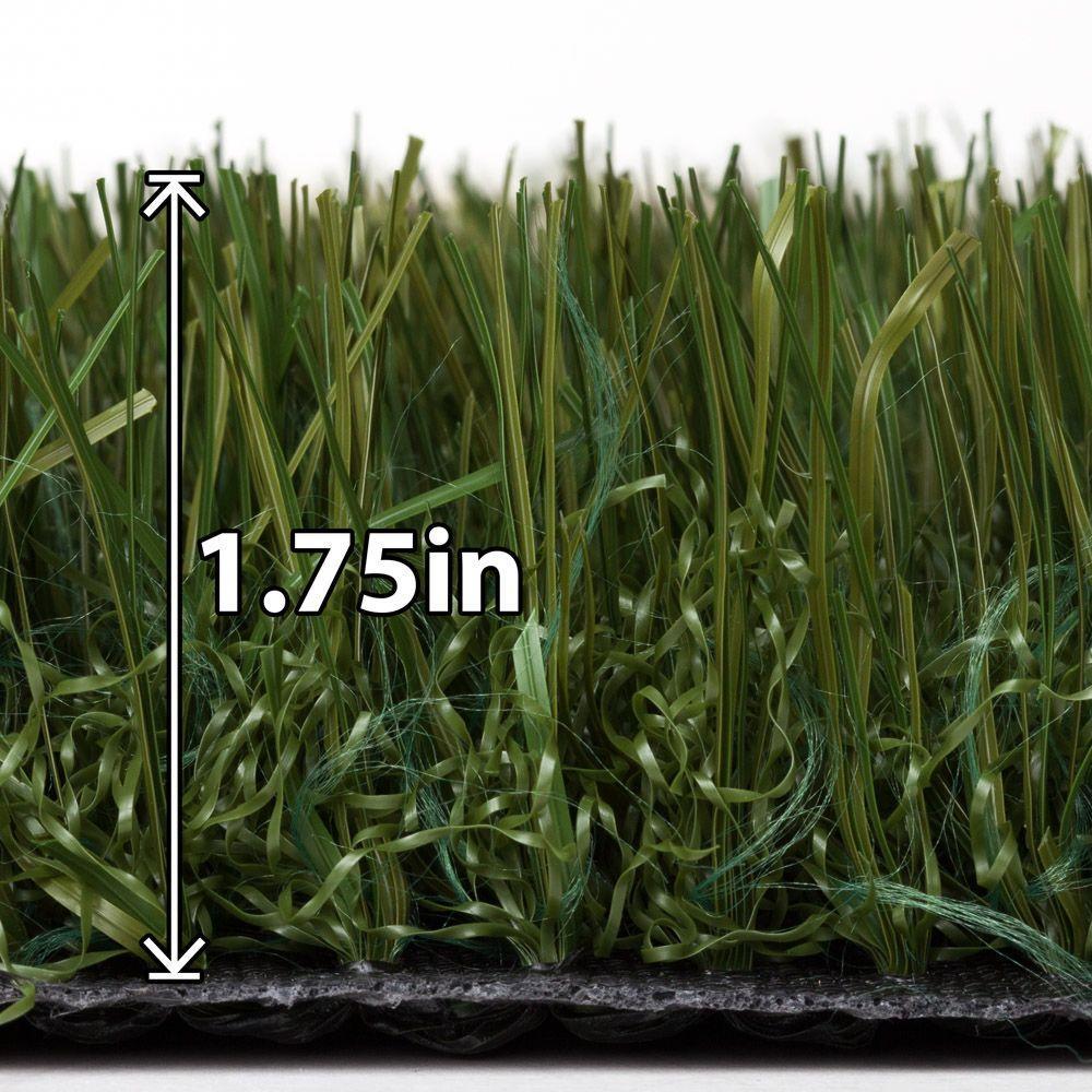 Tundra 5 ft. x 10 ft. Kentucky Grass Artificial Turf