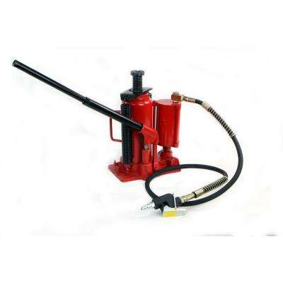 12-Ton Air Hydraulic Bottle Jack Manual Lifts Hoist