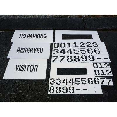 Deluxe Curb Marking Kit (comes with 2 of each number size)