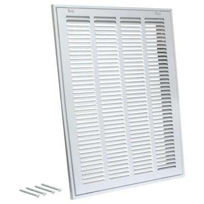 20 in. x 25 in. Steel Return Filter Grille