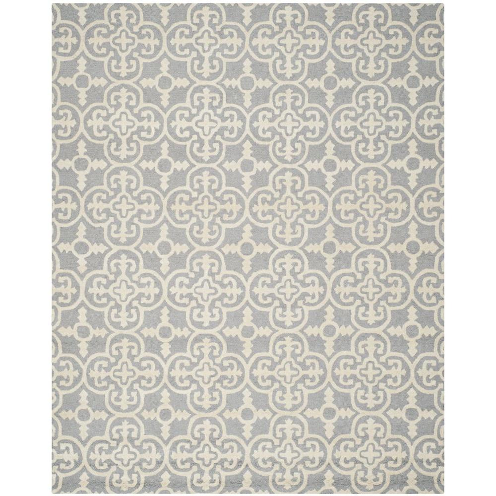 Safavieh Cambridge Silver/Ivory 6 ft. x 9 ft. Area Rug