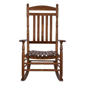 Miraculous Bradley Black Slat Patio Rocking Chair 200Sbf Rta The Home Onthecornerstone Fun Painted Chair Ideas Images Onthecornerstoneorg
